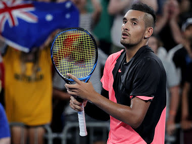 Australia's Nick Kyrgios to skip Estoril and Madrid events to get treatment on long-term elbow injury