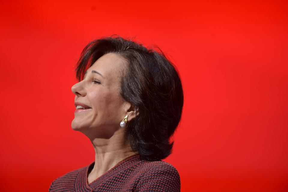 Ana Botin, chairwoman of Spain's largest bank Banco Santander, addresses the annual general meeting of shareholders in Santander March 18, 2016. REUTERS/Vincent West TPX IMAGES OF THE DAY