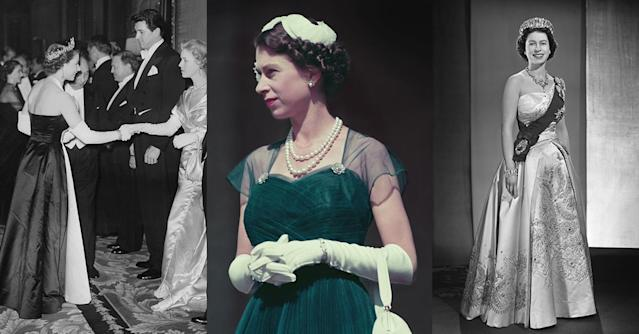 Queen Elizabeth through the years. (Photos: Getty Images)