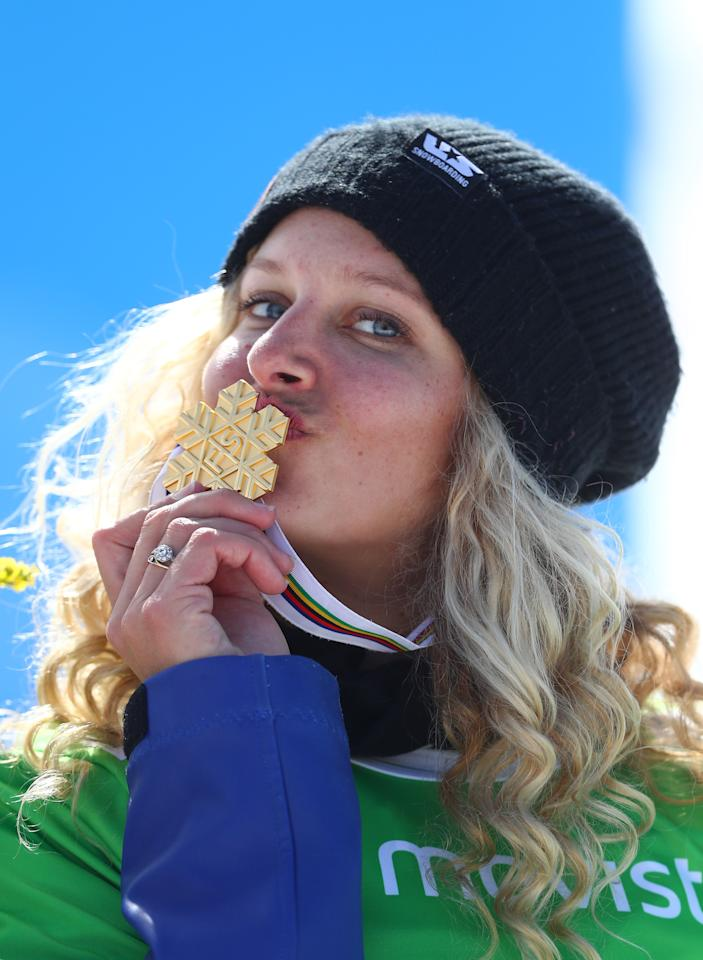 """<p><strong>Country:</strong> United States<br /><strong>Net Worth:</strong> $1 million<br /> The veteran snowboarder is currently at her fourth Olympics where she had hoped to win her first Olympic gold medal, but came in fourth. Jacobellis is a five-time world champion and has 10 golds under her belt, all from the Winter X Games. She has the most wins of any female in X Games history. She's got 27 World Cup wins and 43 podium finishes in 72 starts, which is """"more than any other snowboardcross racer on the planet."""" She has promo deals with Paul Mitchell and Dunkin' Donuts. (Getty) </p>"""
