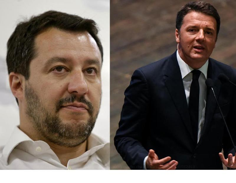Italia Viva Quota 100 Salvini