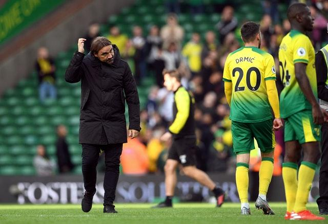 Norwich manager Daniel Farke reflects on a thumping home defeat to Aston Villa