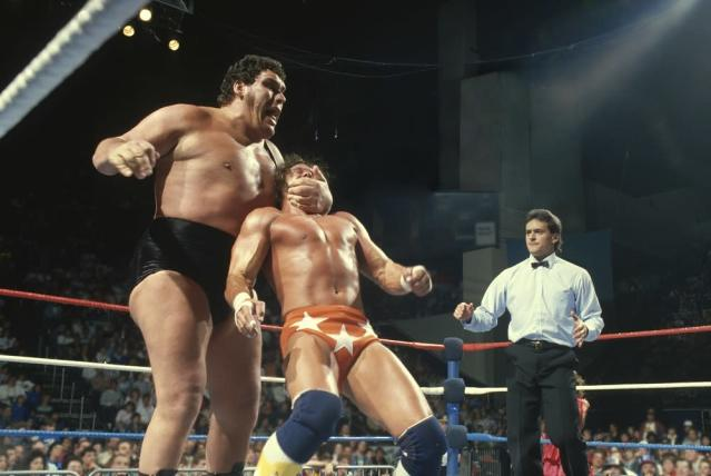 Director Jason Hehir and his staff were relentless in creating the HBO documentary on the life of Andre the Giant. (Courtesy WWE)
