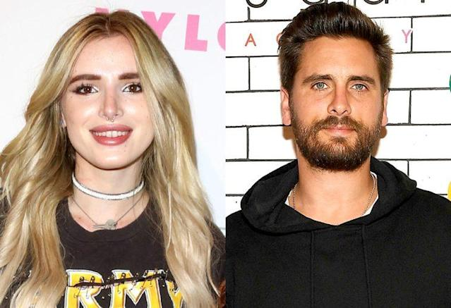 Bella Thorne and Scott Disick might be hooking up. (Photo: Getty Images)