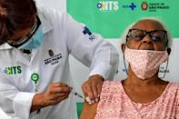 More than three-quarters of the 115 million Covid-19 jabs administered so far have been handed it in just 10 wealthy countries