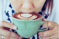 """<p><a href=""""https://www.prevention.com/food-nutrition/healthy-eating/a19831490/coffee-good-for-you/"""" rel=""""nofollow noopener"""" target=""""_blank"""" data-ylk=""""slk:Is coffee good for you?"""" class=""""link rapid-noclick-resp"""">Is coffee good for you?</a> You bet: In addition to perking you up, coffee may help to drop your risk for heart diabetes, diabetes, and certain cancers. For an extra health boost, try kicking things up by adding spices to your coffee grounds before brewing. For every scoop of ground coffee add ¼ teaspoon of either ground cinnamon, cardamom, or turmeric to the filter.</p>"""