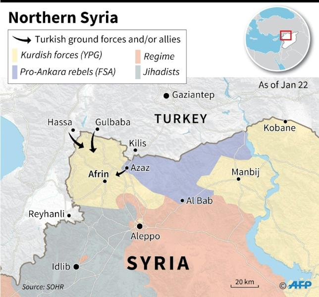 Turkey's offensive against Kurdish militia in Syria is the second such operation since the outbreak of civil war there