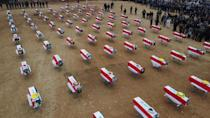 Many Yazidi people were massacred or enslaved by the Islamic State group