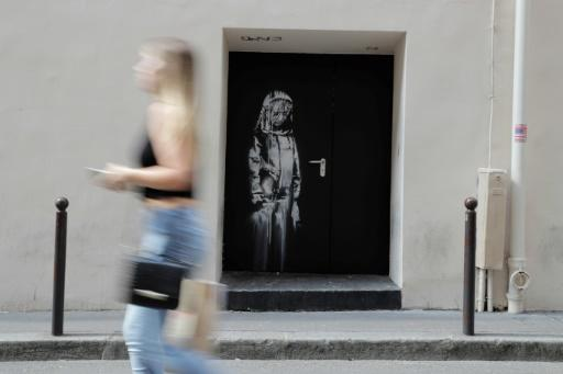 A number of works left around Paris by street artist Banksy during a 2018 visit were subsequently stolen