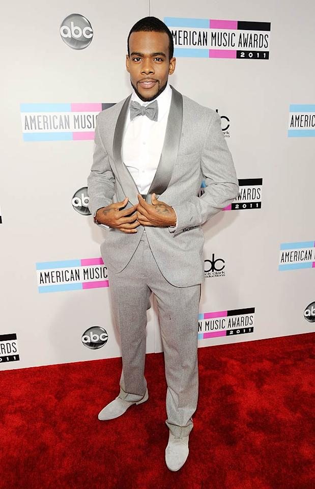 Singer Mario arrives at the 2011 American Music Awards held at the Nokia Theatre L.A. LIVE. (11/20/2011)