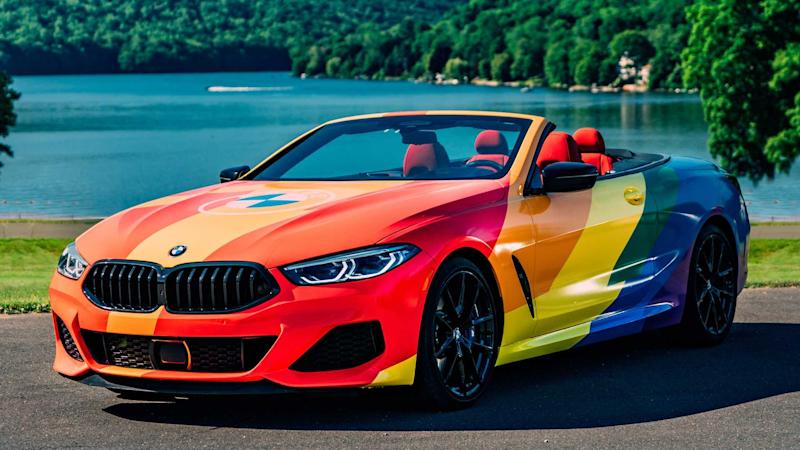 BMW M850i Convertible Pride Wrap