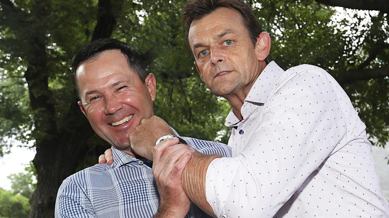 Ricky Ponting and Adam Gilchrist, pictured, will play in the Bushfire Cricket Bash.