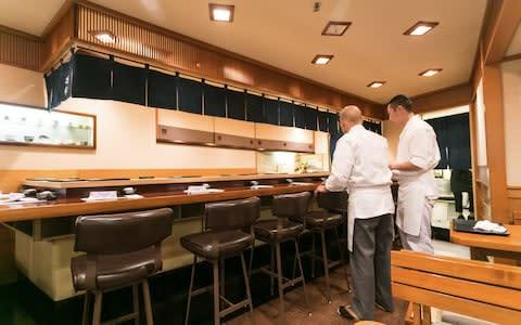 <span>Jiro Ono's restaurant has become a cult classic</span>
