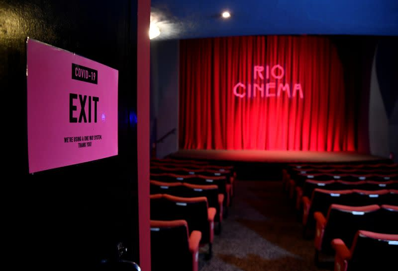 London Film Festival offers beacon of hope to COVID-hit industry