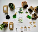 """<p><strong>HortikiPlants</strong></p><p>etsy.com</p><p><strong>$34.99</strong></p><p><a href=""""https://go.redirectingat.com?id=74968X1596630&url=https%3A%2F%2Fwww.etsy.com%2Flisting%2F707037175%2Forganic-kitchen-herb-gardening-kit&sref=https%3A%2F%2Fwww.housebeautiful.com%2Fentertaining%2Fholidays-celebrations%2Fg30110125%2Feco-friendly-gifts%2F"""" rel=""""nofollow noopener"""" target=""""_blank"""" data-ylk=""""slk:BUY NOW"""" class=""""link rapid-noclick-resp"""">BUY NOW</a></p><p>Few things are as sustainable as growing your own food. As a bonus, the plant containers this kit comes with are biodegradable and made from recycled paper. </p>"""