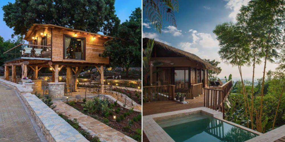 """<p>If it's a <em>Tarzan* </em>style retreat you're after, look no further than <a rel=""""nofollow"""" href=""""https://uk.hotels.com/"""">Hotels.com</a> and <a rel=""""nofollow"""" href=""""https://www.tripadvisor.co.uk/Rentals"""">Trip Advisor Rental'</a>s pick of the best treehouses that were recognised in the 'Loved By Guests' awards and available to book right now. And no, we're not talking a Bart Simpson-esque shack up an oak tree - but rather plunge pools, canopy hammocks and restaurants suspended on stilts in the most beautiful jungle branches. </p><p>*Fit, rugged Tarzan lookalike unfortunately not included.</p>"""