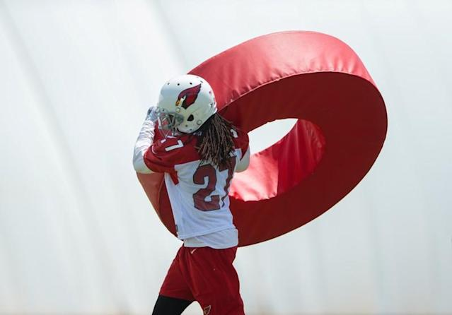 FILE PHOTO: NFL: Arizona Cardinals-Minicamp, Defensive Back Josh Shaw