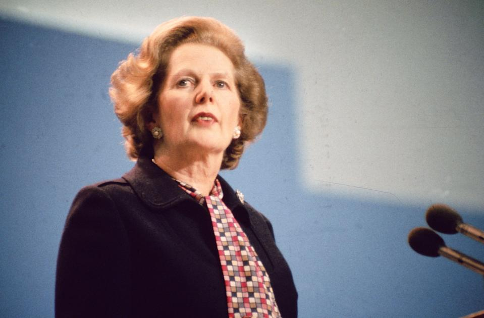 Margaret Thatcher was the best Prime Minister in the last 30 years, according to a poll of MPs (Getty Images)
