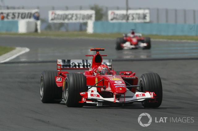 "GP de Hungría 2004 <span class=""copyright"">Lorenzo Bellanca / Motorsport Images</span>"