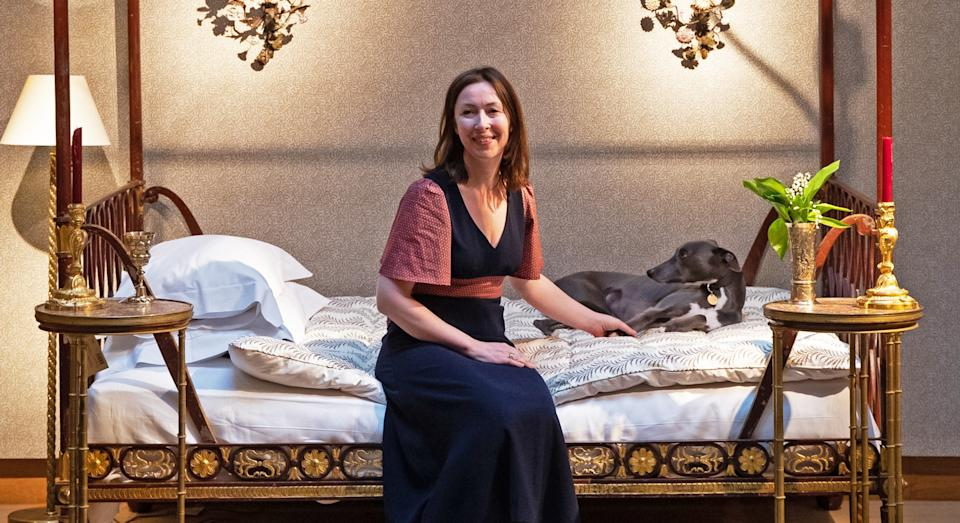 Lulu Lytle at Soane Britain's collaboration with Christie's in 2019 (Getty)