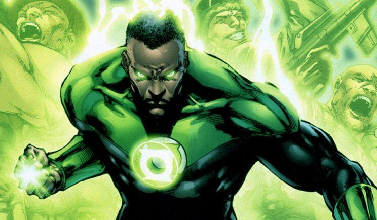 One of the classic Green Lanterns, John Stewart - Credit: DC Entertainment