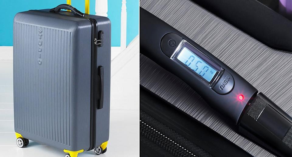 Could this be the solution to the dreaded airport bag weigh-in? (Studio.com)