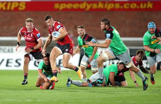 Jonny May returned to Gloucester colours this summer