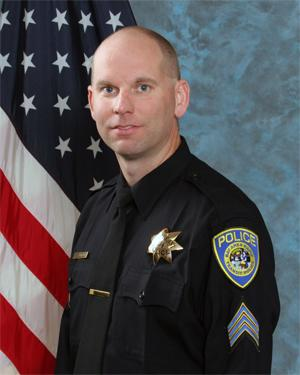 In this undated photo released by Bay Area Rapid Transit shows police Sgt. Tom Smith. Authorities say the BART police officer was shot and killed by a fellow officer while searching an apartment looking for a laptop and other stolen items on Tuesday Jan. 21, 2014 in Dublin, Calif. (AP Photo/Bay Area Rapid Transit)
