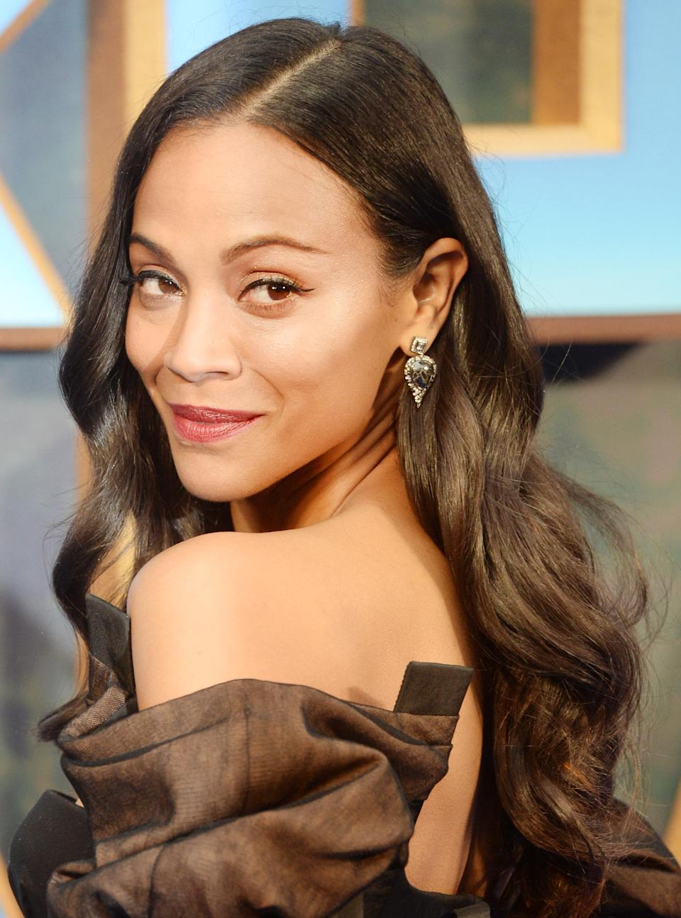 "<p>We might pin green skin and pink ombre on <a href=""https://www.yahoo.com/lifestyle/tagged/zoe-saldana"" data-ylk=""slk:Zoe Saldana"" class=""link rapid-noclick-resp"">Zoe Saldana</a> because of her <a href=""https://www.yahoo.com/lifestyle/zoe-saldanas-3-sons-obsessed-female-superheroes-195350098.html"" data-ylk=""slk:iconic Marvel character;outcm:mb_qualified_link;_E:mb_qualified_link;ct:story;"" class=""link rapid-noclick-resp yahoo-link"">iconic Marvel character</a>, Gamora, but when she's not trying to save the galaxy from certain doom, the Dominican actress shines as brightly as <a href=""https://www.yahoo.com/lifestyle/celebrity-hairstylist-says-glass-hair-isnt-new-explains-silk-press-get-look-180512400.html"" data-ylk=""slk:her long and glossy strands;outcm:mb_qualified_link;_E:mb_qualified_link;ct:story;"" class=""link rapid-noclick-resp yahoo-link"">her long and glossy strands</a> at every red carpet. Red is her lipstick shade of choice, whether she's going subtly rosy or sultry crimson. Check out these <a href=""https://www.yahoo.com/lifestyle/red-lipsticks-last-well-reception-120000736.html"" data-ylk=""slk:budge-proof red lipstick;outcm:mb_qualified_link;_E:mb_qualified_link;ct:story;"" class=""link rapid-noclick-resp yahoo-link"">budge-proof red lipstick</a> options for your next event. (Photo: Getty Images) </p>"