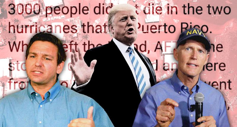 Trump's conspiracy theory on Puerto Rico death toll makes even Florida Republicans squirm
