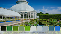 <p>Over in New York, the famous botanical garden feature 50 acres of old-growth woodlands, wetland trails, an azalea garden and the internationally renowned Peggy Rockefeller Rose Garden. Here, vibrant blues are intertwined with fresh greens and crisp whites. No wonder so many visit each year...</p>