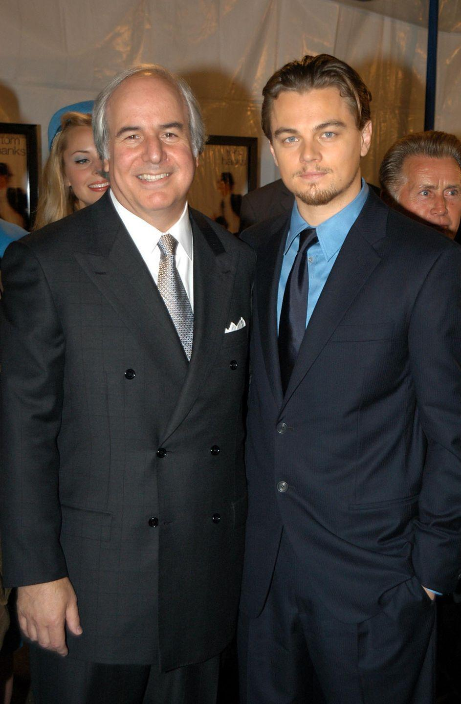 <p>Leonardo DiCaprio played Frank Abagnale Jr. in <em>Catch Me If You Can</em> in 2002. </p>