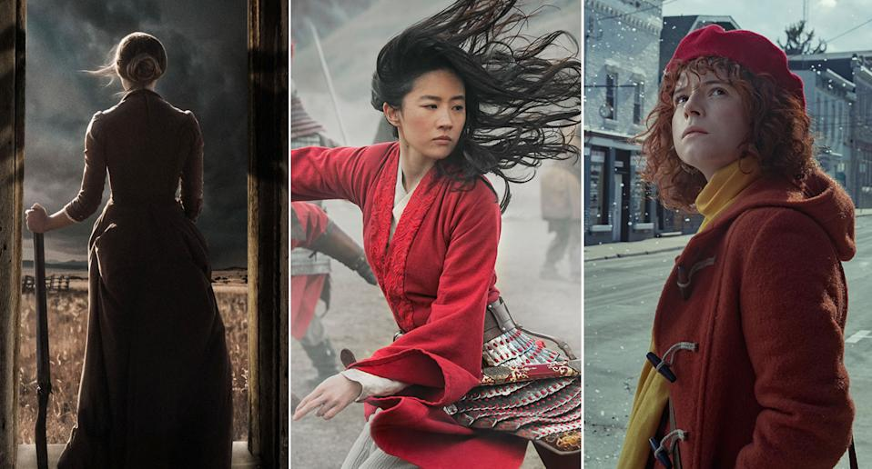 The Wind, Mulan, I'm Thinking Of Ending Things are all new to streaming this week. (Shudder/Disney+/Netflix)