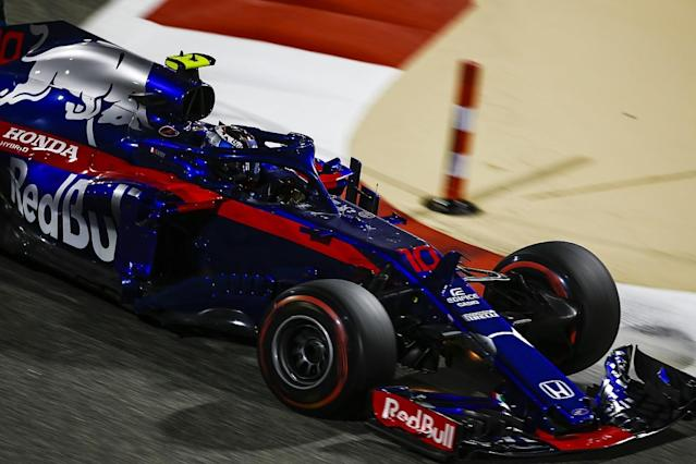 Pierre Gasly has explained that a Fernando Alonso-related joke he made on the radio to Toro Rosso after finishing fourth in Bahrain was to give Honda the credit it deserved