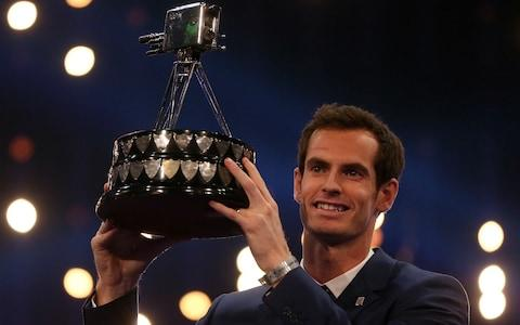 <span>Andy Murray crowned SPOTY winner in 2015</span> <span>Credit: pa </span>