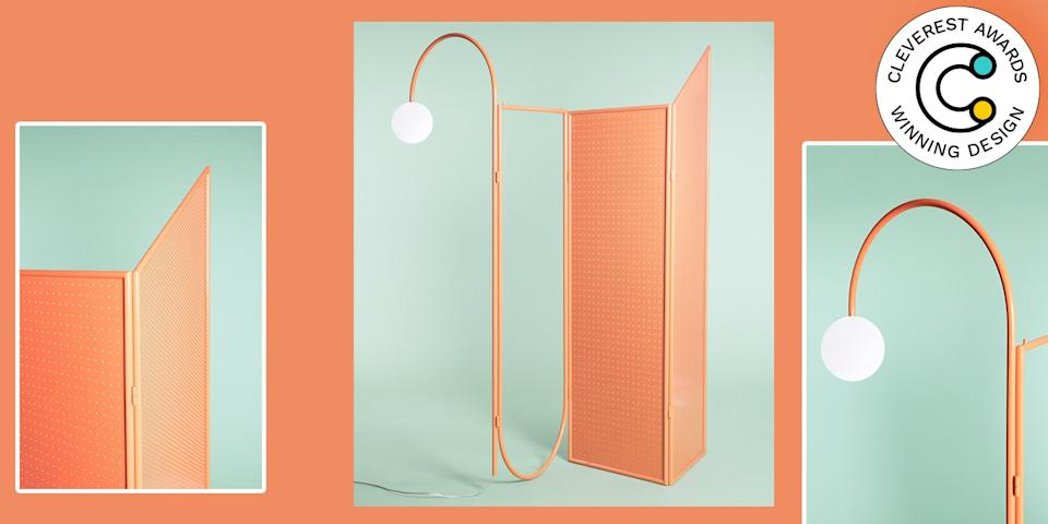 Déjà-Vu Booth by Giacopini What do you want in a room divider: Style? For sure. A mirror? Why not! Lighting? Tell me more. The Déjà-Vu modular system designed by Manuel Barbieri of MM Company offers all these options and then some for a superfunctional design wherever you need it. giacopini.design