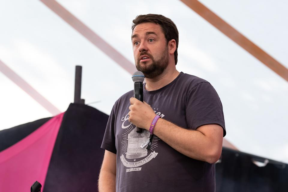 Jason Manford has announced a brand new 99 date stand-up tour. (Photo by Carla Speight/Getty Images)