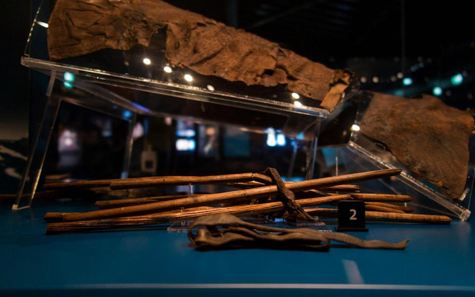 The Mary Rose, in Portsmouth dockyard