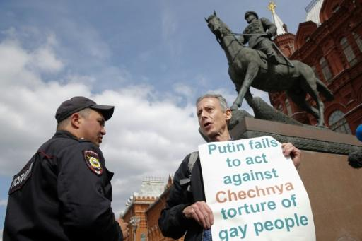 Tatchell told one of the officers that a number of celebrated Russians, such as the composer Pyotr Tchaikovsky, were gay