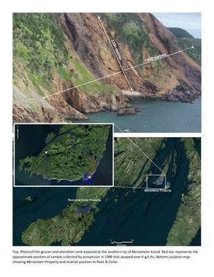 Northern Shield Acquires Extensive Alteration System Hosting Gold-Silver in Newfoundland (CNW Group/Northern Shield Resources Inc.)