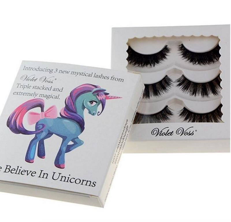 ba3f7510e95 Unicorn lovers are going to freak out over Violet Voss' upcoming fake lash  set