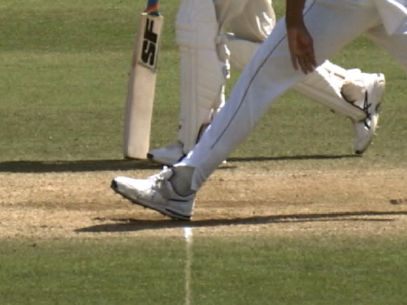 The front-foot no-ball has become a controversial topic in the game: Sky Sports