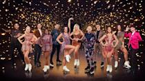 """<p>The <a href=""""https://www.prima.co.uk/leisure/celebrity/a35175274/holly-willoughby-princess-gown-dancing-on-ice-launch/"""" rel=""""nofollow noopener"""" target=""""_blank"""" data-ylk=""""slk:greatest show on ice"""" class=""""link rapid-noclick-resp"""">greatest show on ice</a> returns to our screens with a host of new celebrities very soon. Coronation Street's Faye Brookes, TOWIE's Billie Shepherd, model Rebekah Vardy, athlete Colin Jackson and more celebs will take to the ice this winter, showing off their new-found skills on live TV, accompanied by the talented cast of professional skaters.</p><p>Click through for a new look at the 2021 line-up, featuring the stars and their pro partners.</p><p><strong>Dancing on Ice, presented by Holly Willoughby and Phillip Schofield, airs Sunday, January 17 at 6pm on ITV.</strong></p>"""