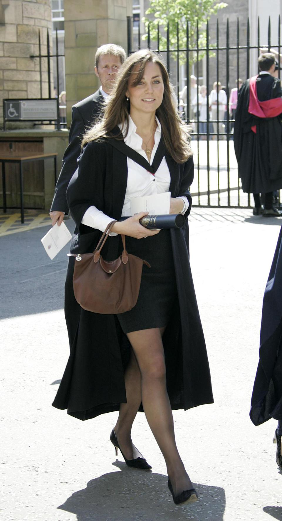 Kate Middleton graduates from St Andrews University in 2005 [Photo: Getty]