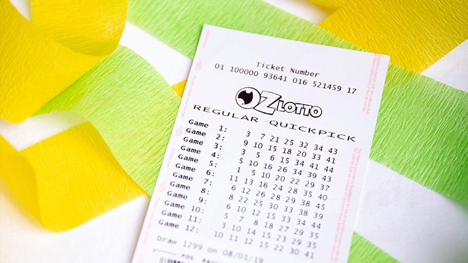 Oz Lotto had $30 million up for grabs on Tuesday night. Source: The Lott
