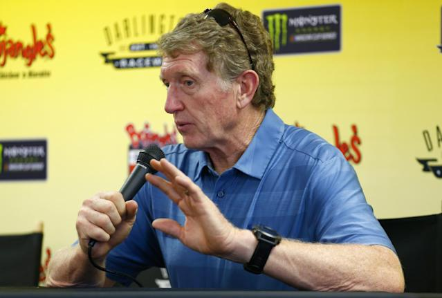 Bill Elliott is back in NASCAR. (Photo by Matt Sullivan/Getty Images)