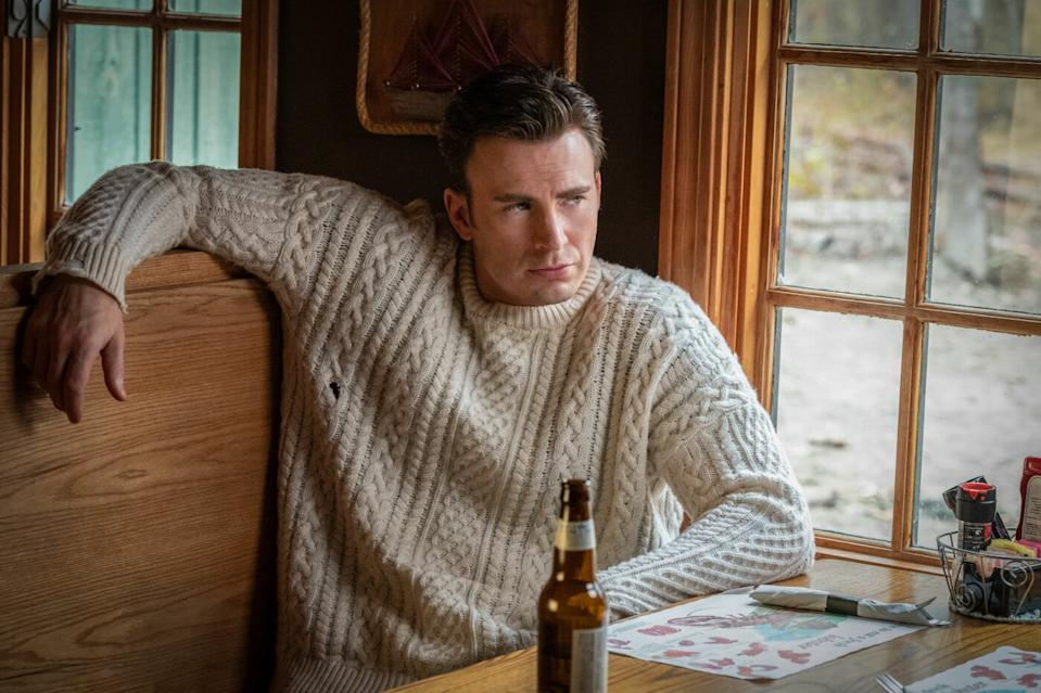 Chris Evans in Rian Johnson's <i>Knives Out</i>. (Lionsgate)