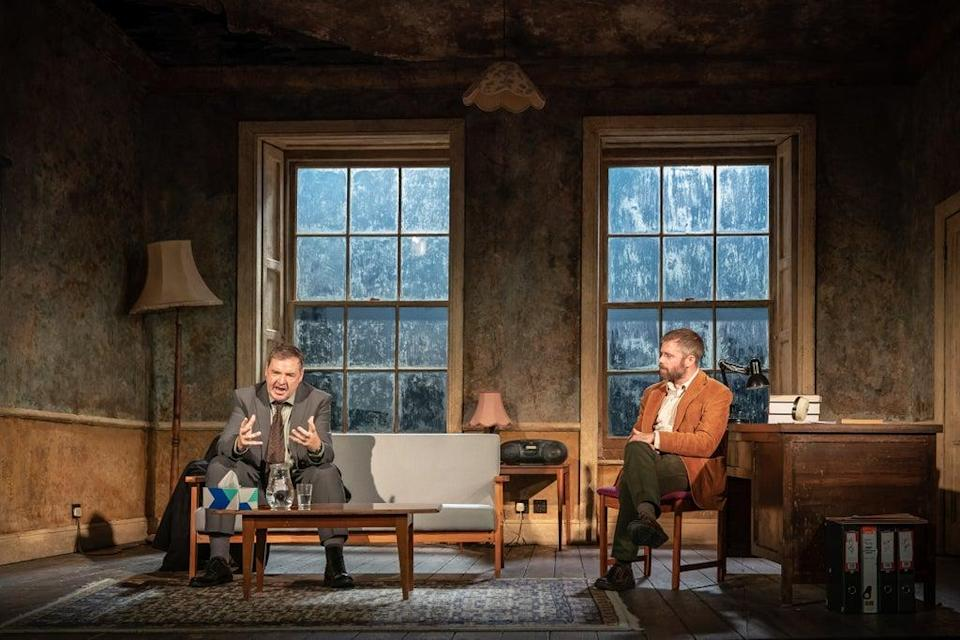 Brendan Coyle and Rory Keenan in Shining City (Marc Brenner)