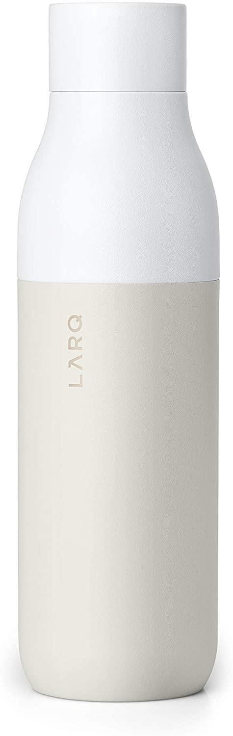 """<h2>LARQ Self-Cleaning Water Bottle</h2> <br>Everyone needs <a href=""""https://www.refinery29.com/en-us/2019/06/234776/best-glass-water-bottles"""" rel=""""nofollow noopener"""" target=""""_blank"""" data-ylk=""""slk:a chic water bottle"""" class=""""link rapid-noclick-resp"""">a chic water bottle</a>. This one cleans itself — great for busy moms. <br><br><strong>LARQ</strong> 17 oz Water Bottle, $, available at <a href=""""https://www.amazon.com/LARQ-Bottle-Self-Cleaning-Purification-System/dp/B00CWXPEPE?ref_=ast_sto_dp&th=1&psc=1"""" rel=""""nofollow noopener"""" target=""""_blank"""" data-ylk=""""slk:Amazon"""" class=""""link rapid-noclick-resp"""">Amazon</a><br>"""