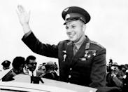 Yuri Gagarin became famous in the Soviet Union and worldwide as the first person to reach space
